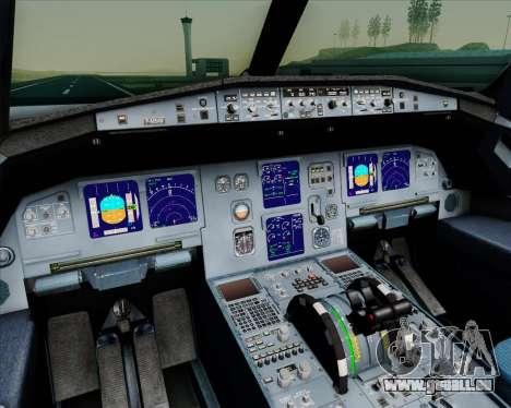 Airbus A321-200 Gulf Air für GTA San Andreas Innen