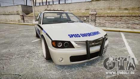 Declasse Merit Police Patrol Speed Enforcement für GTA 4