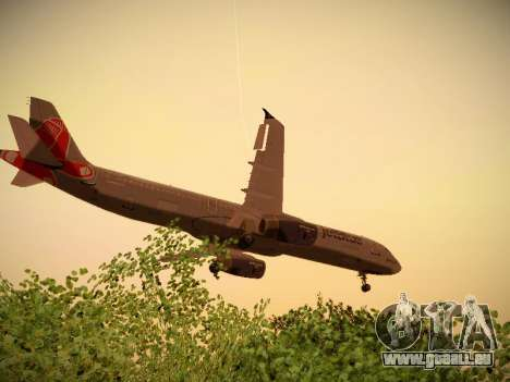Airbus A321-232 jetBlue Boston Red Sox pour GTA San Andreas salon