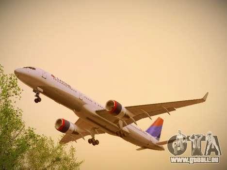 Boeing 757-232 Delta Airlines pour GTA San Andreas vue intérieure