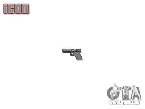 Pistolet Jericho 941 pour GTA 4 troisième écran