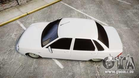 VAZ-Lada Priora 2170 pour GTA 4 est un droit