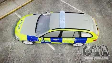 BMW 530d F11 Metropolitan Police [ELS] für GTA 4 rechte Ansicht