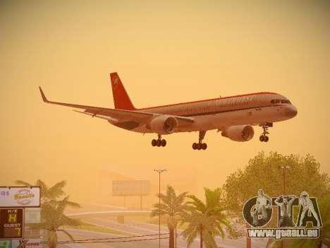Boeing 757-251 Northwest Airlines für GTA San Andreas Innenansicht