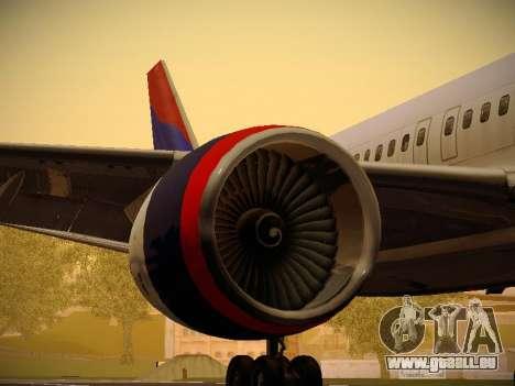 Boeing 757-232 Delta Airlines pour GTA San Andreas moteur