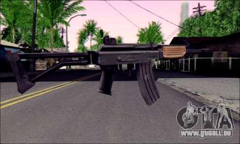 IMI Galil pour GTA San Andreas deuxième écran