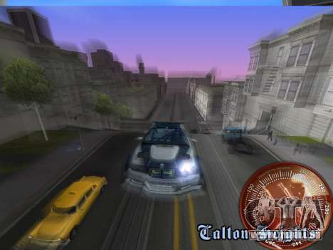 Compteur de vitesse HITMAN pour GTA San Andreas sixième écran