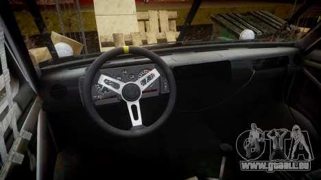 Kessler Stowaway Simpson pour GTA 4 Vue arrière