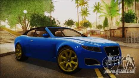Lampadati Felon GT (IVF) für GTA San Andreas