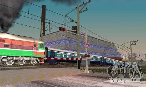 De nouvelles textures pour le trafic ferroviaire pour GTA San Andreas quatrième écran