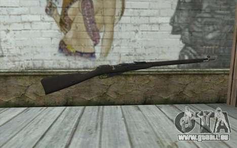 Die Gewehre Mosin-v6 für GTA San Andreas zweiten Screenshot