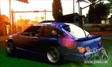 Ford Sierra Stanced für GTA San Andreas linke Ansicht