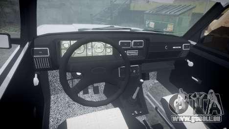 ВАЗ-2107 Avtosh Style pour GTA 4 Vue arrière