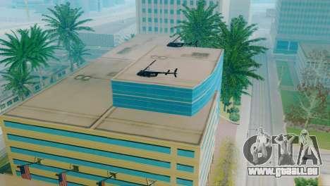De nouveaux véhicules dans le LVPD pour GTA San Andreas neuvième écran
