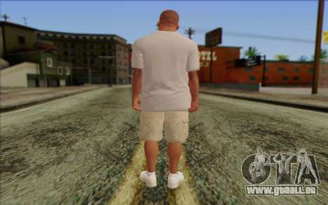 Franklin from GTA 5 pour GTA San Andreas deuxième écran