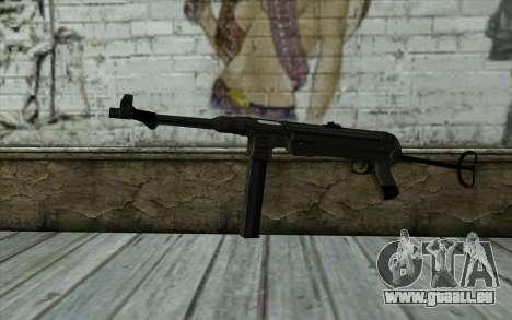 MP40 pour GTA San Andreas