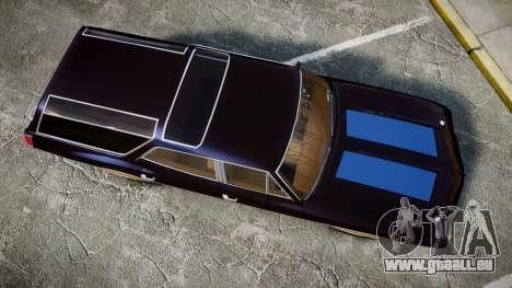 Oldsmobile Vista Cruiser 1972 Rims2 Tree2 pour GTA 4 est un droit