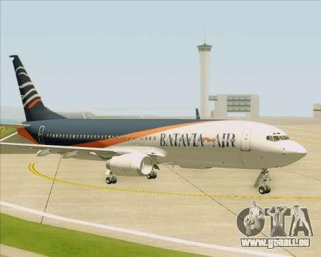 Boeing 737-800 Batavia Air (New Livery) pour GTA San Andreas vue de dessous