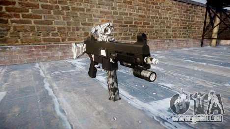 Gun UMP45 Diamant für GTA 4