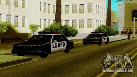 Neue Fahrzeuge im LSPD für GTA San Andreas