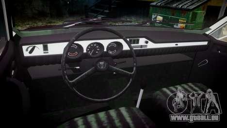 Dacia 1300 für GTA 4 Rückansicht