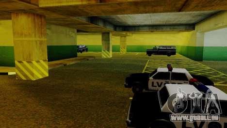 De nouveaux véhicules dans le LVPD pour GTA San Andreas septième écran