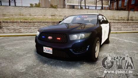 GTA V Vapid Interceptor LSP [ELS] Slicktop pour GTA 4