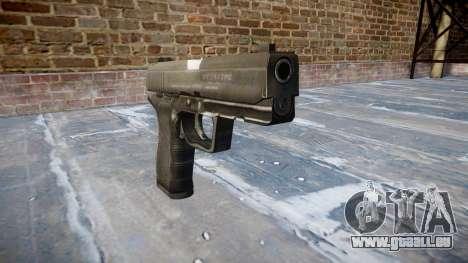 Pistole Taurus 24-7 schwarz icon1 für GTA 4