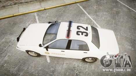 GTA V Vapid Cruiser LSS White [ELS] pour GTA 4 est un droit