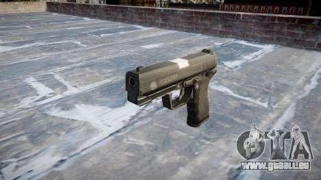 Pistole Taurus 24-7 schwarz icon2 für GTA 4