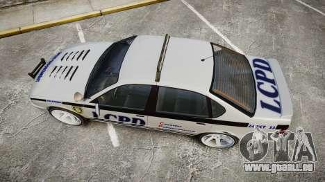 Declasse Merit Police Patrol Speed Enforcement für GTA 4 rechte Ansicht
