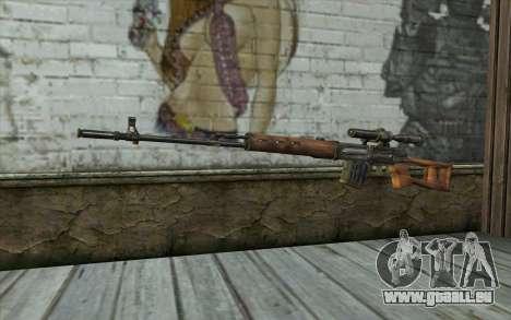 СВД (Battlefield: Vietnam) für GTA San Andreas