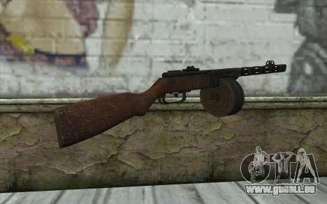 PPSH-41 v2 für GTA San Andreas zweiten Screenshot