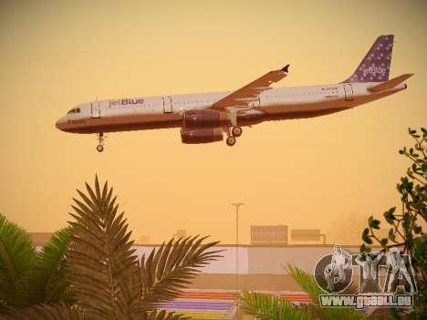 Airbus A321-232 Lets talk about Blue für GTA San Andreas Motor