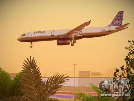 Airbus A321-232 Lets talk about Blue pour GTA San Andreas moteur