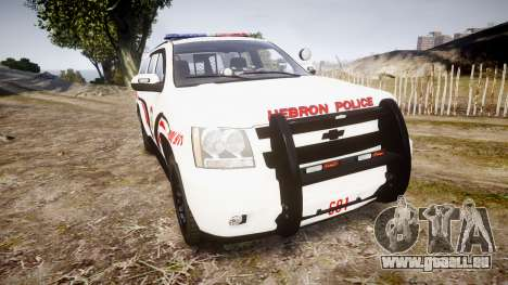 Chevrolet Suburban 2008 Police [ELS] Red & Blue pour GTA 4