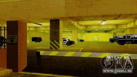 De nouveaux véhicules dans le LVPD pour GTA San Andreas sixième écran