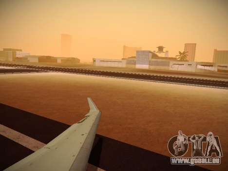 Bombardier CRJ-700 Delta Connection pour GTA San Andreas vue de côté