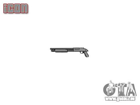 Fusil à pompe Mossberg 500 icon1 pour GTA 4 troisième écran