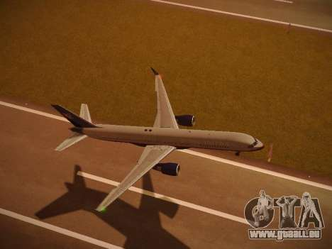 Boeing 757-224 United Airlines pour GTA San Andreas moteur