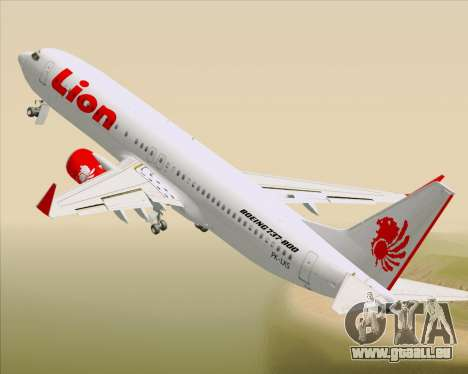 Boeing 737-800 Lion Air für GTA San Andreas