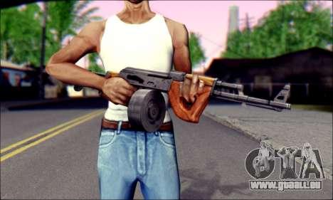 Importiert AK für GTA San Andreas dritten Screenshot