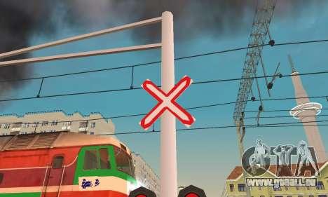 De nouvelles textures pour le trafic ferroviaire pour GTA San Andreas troisième écran