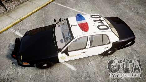 Ford Crown Victoria LASD [ELS] Marked pour GTA 4 est un droit