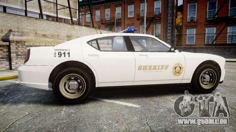 GTA V Bravado Police Buffalo [ELS] für GTA 4 linke Ansicht