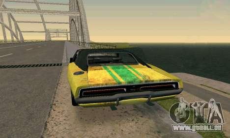 Dodge Charger HL2 EP2 pour GTA San Andreas laissé vue