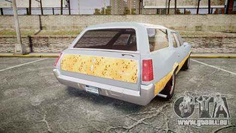 Oldsmobile Vista Cruiser 1972 Rims1 Tree6 für GTA 4 hinten links Ansicht