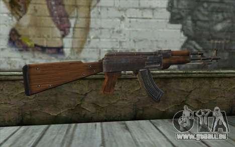 Тип 56 (АКМ) de Battlefield: Vietnam pour GTA San Andreas deuxième écran