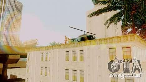 Neue Fahrzeuge im LSPD für GTA San Andreas zweiten Screenshot