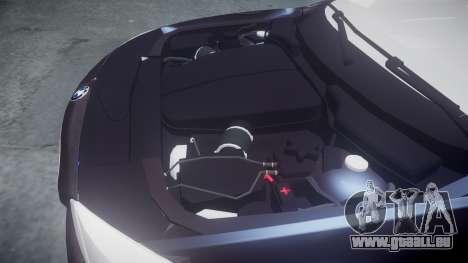 BMW 530d F11 Metropolitan Police [ELS] SEG pour GTA 4 est une vue de l'intérieur